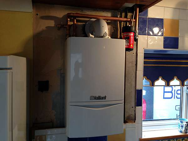 Installing Vaillant Boilers Gas Condensing Boiler